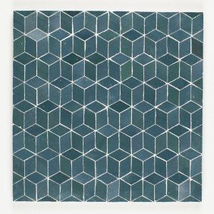 M'diq Mosaic Tile - Blue Grotto
