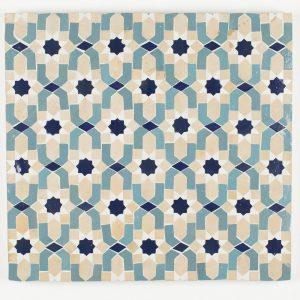 Marrakesh Mosaic Tile - Peacock