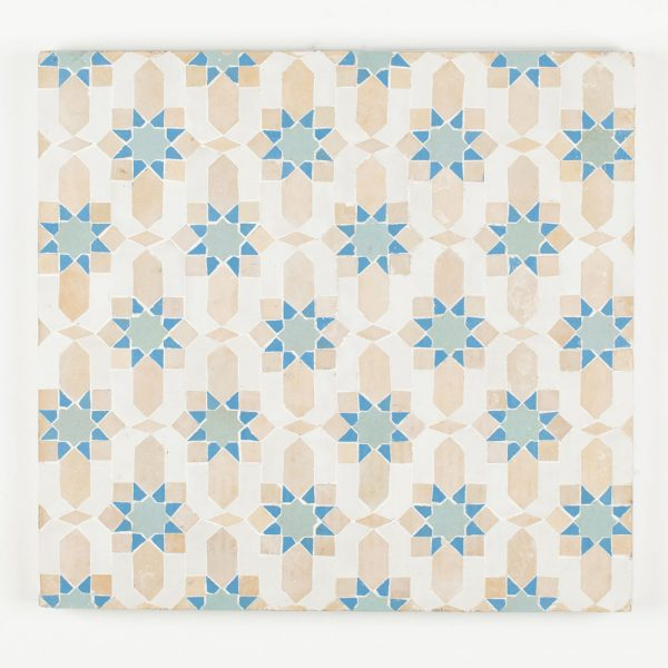 Marrakesh Mosaic Tile - Blue Grass
