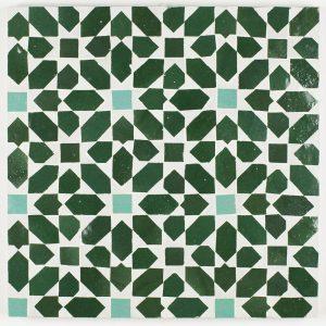 Maknas Mosaic Tile - Forest