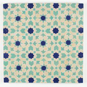 Tangier Mosaic Tile - Poseidon