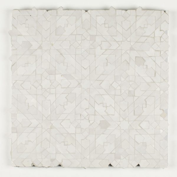 Casablanca Mosaic Tile - Snow