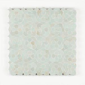 Bouskoura Mosaic Tile - Moss