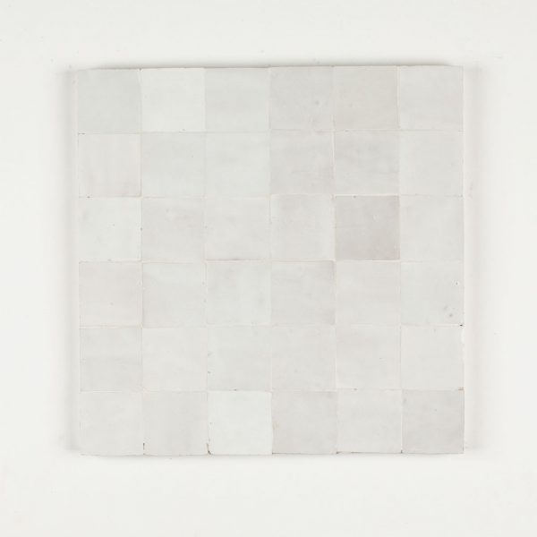 2x2 Inch Pieces in a 12x12 Inch Tile Snow