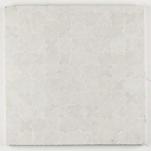 Berkane Mosaic Tile - Snow