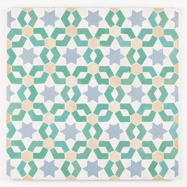 Settat Mosaic Tile - Poseidon